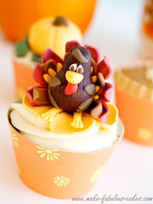 Cute Ideas For Making Turkey Cakes