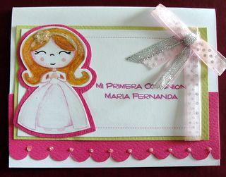 Invitación para Primera Comunión http://www.facebook.com/crpentinas