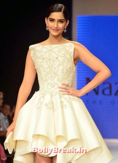 Sonam Kapoor was the show stopper for Rio Tinto's Nazraana at IIJW 2014 Sonam Kapoor Pics in White Gown Dress at IIJW Fashion Show 2014 - Sonam Kapoor Ramp Walk Pics in hot White Tight Dress , #fashionshow #sonamkapoor #gown #iijw #dress #bollybreak #bollywood #india #indian #mumbai #fashion #style #bollywoodfashion #bollywoodmakeup #bollywoodstyle #bollywoodactress #bollywoodhair