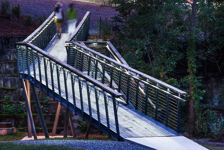 Masonic_Amphitheatre-and-Smith_Creek_Pedestrian_Bridge-08 « Landscape Architecture Works | Landezine