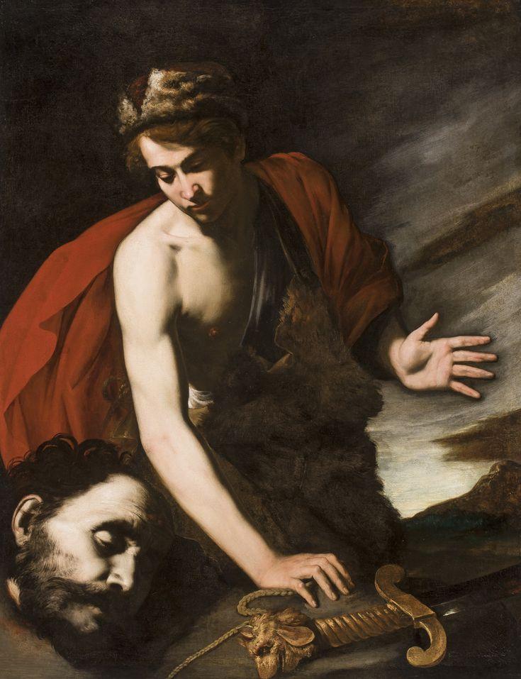 David with Head of Goliath / David con la cabeza de Goliat // ca. 1642-1643 // Antonio de Bellis // © The San Diego Museum of Art