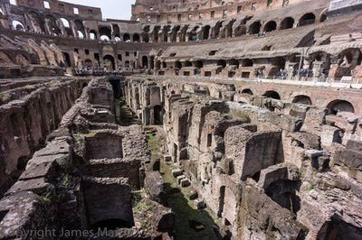 Rome Colosseum: View from the Colosseum Floor--New Tour