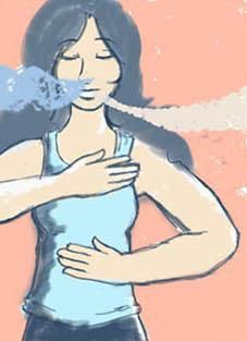 6 Breathing Exercises to Relax in 10 Minutes or Less--master your zen, ladies!