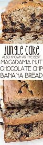 Jungle Cake - the BEST banana bread recipe! Last summer my family and I went to Hawaii. We spent a week on the island, eating local food and drinking local cocktails, like Pineapple Mimosas. One of the...