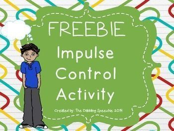 Worksheets Impulse Control Worksheets For Kids 1000 ideas about impulse control on pinterest adhd social this activity is a fun warm up to help children work and flexibility