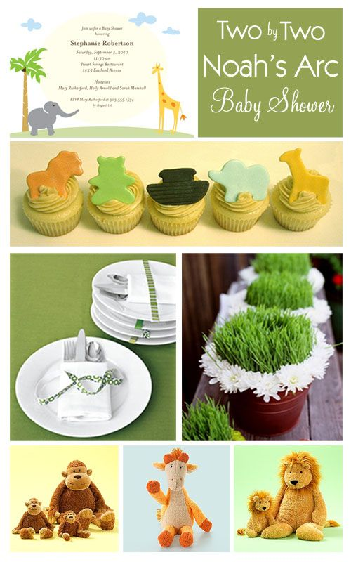 Noah's Arc Baby Shower Theme | Project Nursery perfect for a mom expecting twins!