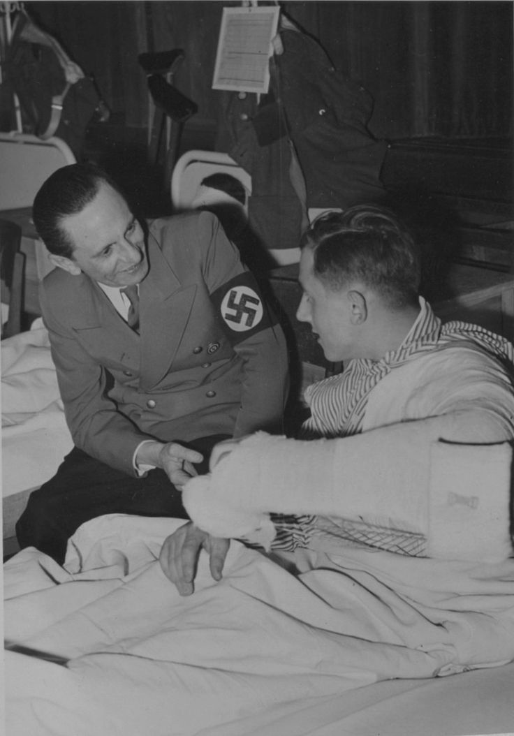 dr joseph goebbels and the nazi german propaganda Paul joseph goebbels (german: [ˈɡœbəls] (listen) [1] 29 october 1897 – 1 may 1945) was a german politician and reich minister of propaganda in nazi germany from 1933 to 1945 as one of adolf hitler's closest associates and most devout followers, he was known for his zealous orations and .