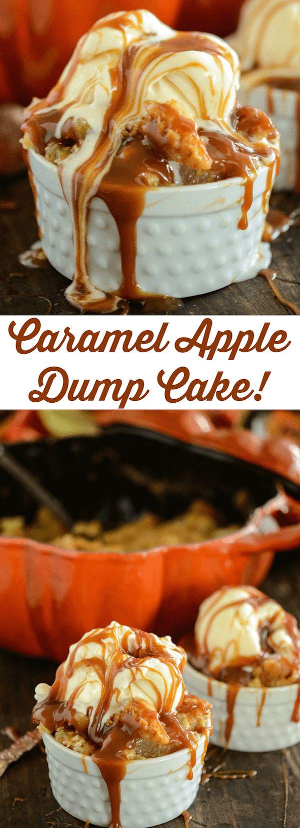 Karamell-Apfel-Dump-Kuchen | Der Anfängerkoch   – Cakes