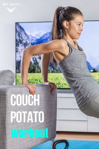Couch Potato Workout: Let's Go! via @DIYActiveHQ #workout