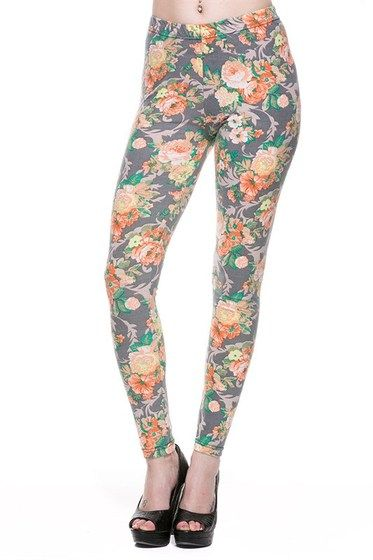 Orange Blossom Leggings from Kiki La Rue
