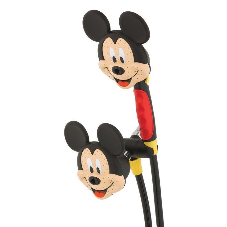 Oxygenics 79368 Mickey Mouse Combo Shower Head ~ http://walkinshowers.org/best-kids-shower-head-reviews.html