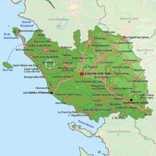 st maixent sur vie, vendee, pays de la loire, france | ... Saint-Maixent-sur-Vie - Cliquez sur la carte pour la refermer