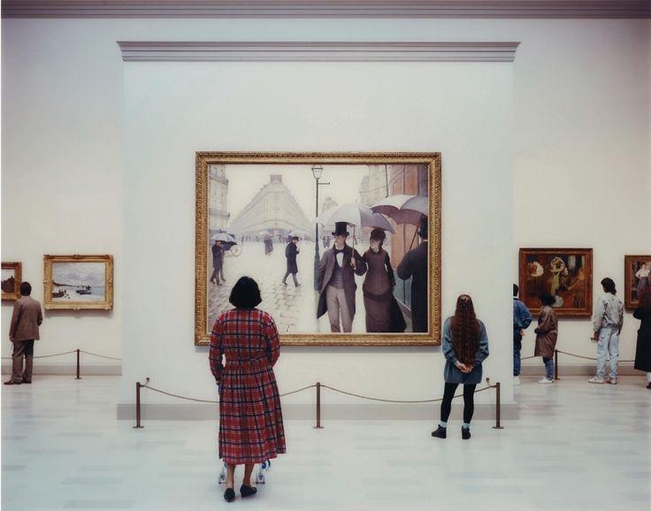 Thomas Struth, Art Institute of Chicago II, 1990