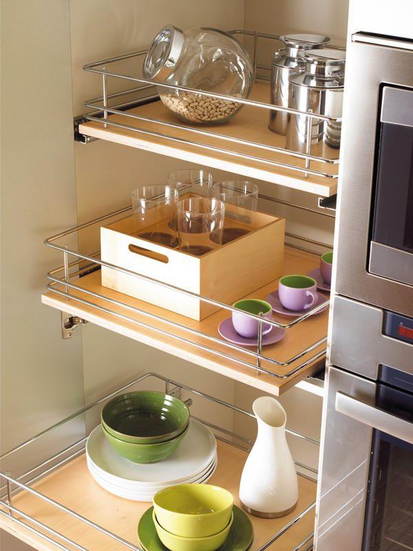 Nuevos #muebles de #cocina para lograr tenerlo todo en orden