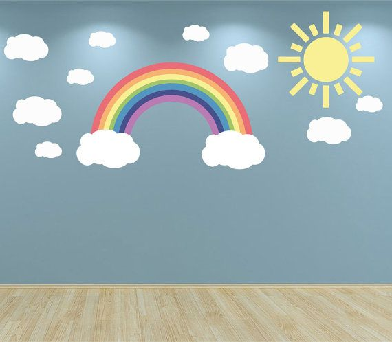 25 beste idee n over regenboog muur op pinterest - Room muur van de baby ...