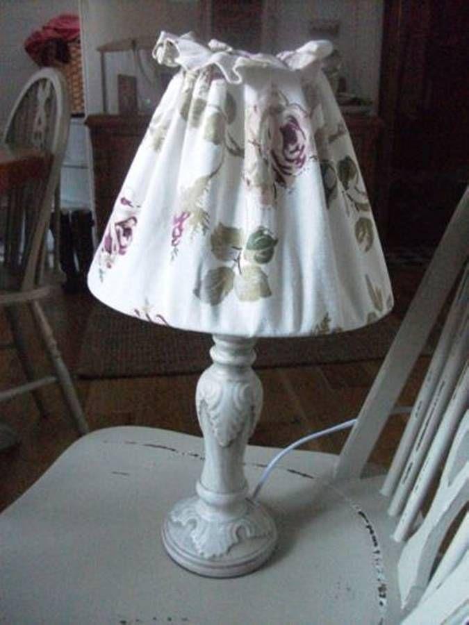Vintage Rose Lamp from notonthehighstreet.com