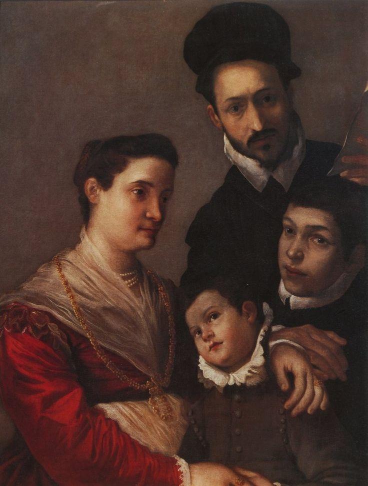Ludovico Carracci (1555 – 1619) Ritratto della famiglia Tacconi, c. 1590.