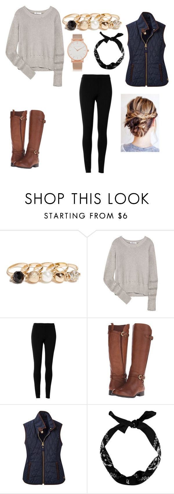 """""""# For chill of Santa Catarina - Brazil"""" by isbeautifulgirl on Polyvore featuring GUESS, T By Alexander Wang, Max Studio, Naturalizer, Joules, Larsson & Jennings, women's clothing, women's fashion, women and female"""