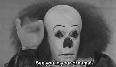 It   Pennywise I am still afraid of this clown till today! ughh thanks Stephan Kind haha