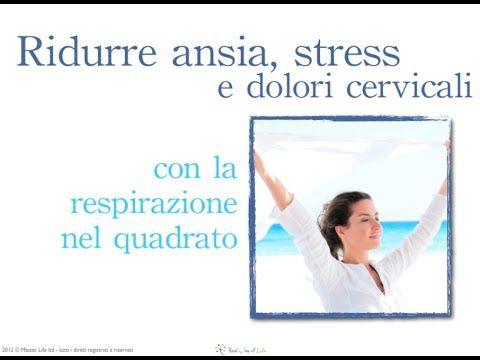 Tecnica La respirazione nel quadrato per gestire ansia, stress e somatizzazioni - YouTube