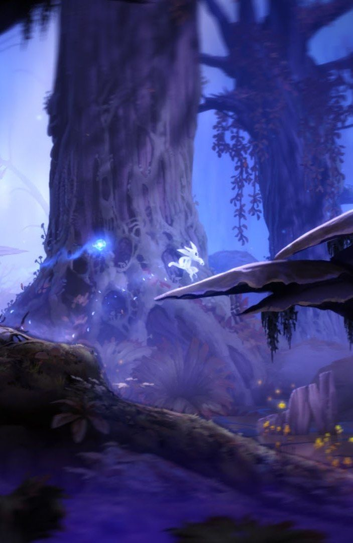 """Ori and the Blind Forest """"so coolly calm and wonderful as a story is being unfolded"""