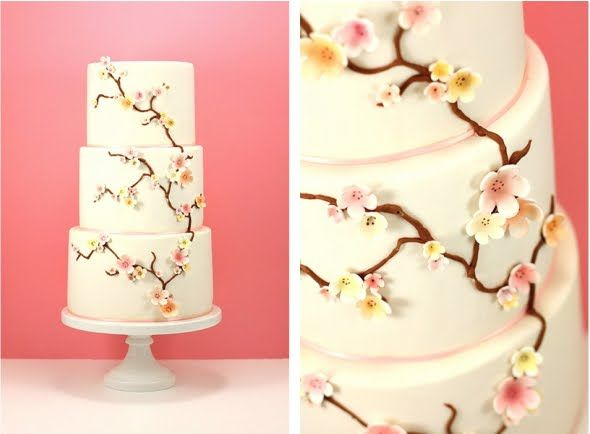Nice Personalized Wedding Cake Toppers Thick Cheap Wedding Cakes Flat Square Wedding Cakes 5 Tier Wedding Cake Old Best Wedding Cake Recipe OrangeWedding Cake Cutter 68 Best Wedding Cake, Cherry Blossom Images On Pinterest   Cherry ..