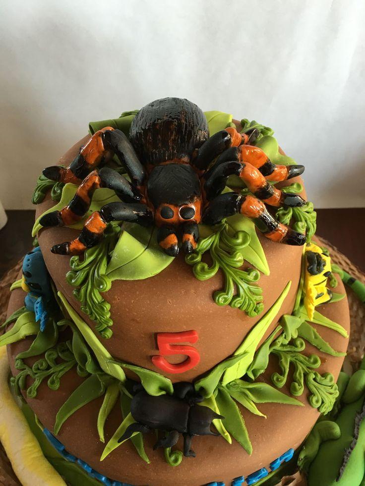 Reptile/rainforest Cake