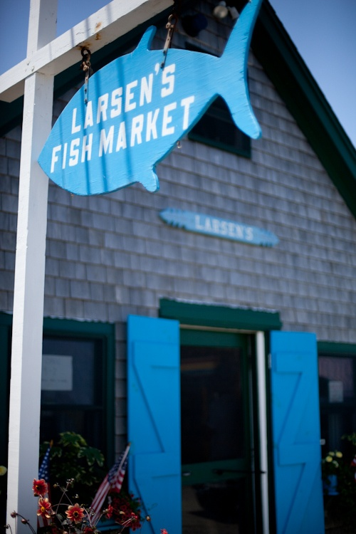 Rated best seafood restaurant on the island. Larson's Fish Market ~ Martha's Vineyard