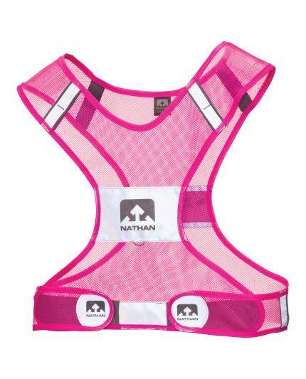 reflective running vest in pink triathlete pinterest vests glow and start running. Black Bedroom Furniture Sets. Home Design Ideas