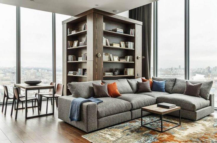 Un salon moderne. #décoration #intérieure #luxe