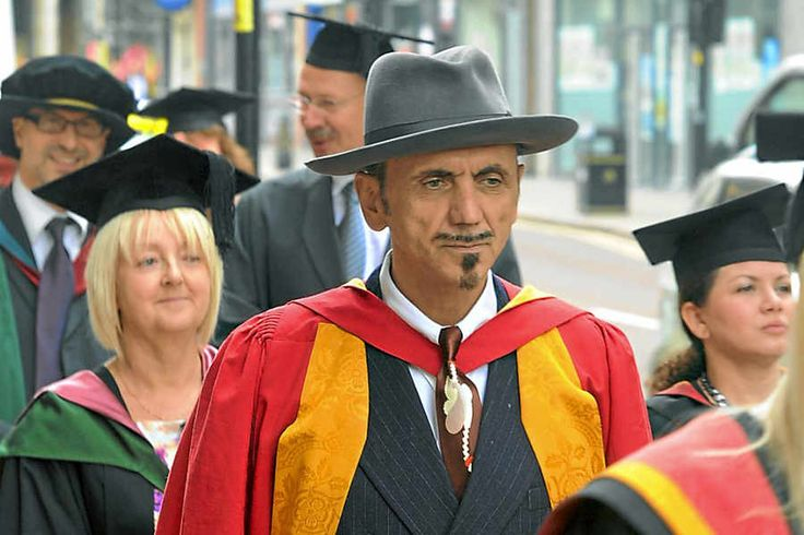 Dexys Midnight Runners singer Kevin Rowland receives an honorary degree from the University of Wolverhampton.