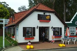 The Clog Barn, Coffs Harbour - look around a miniture dutch village which includes windmills and a working railway.