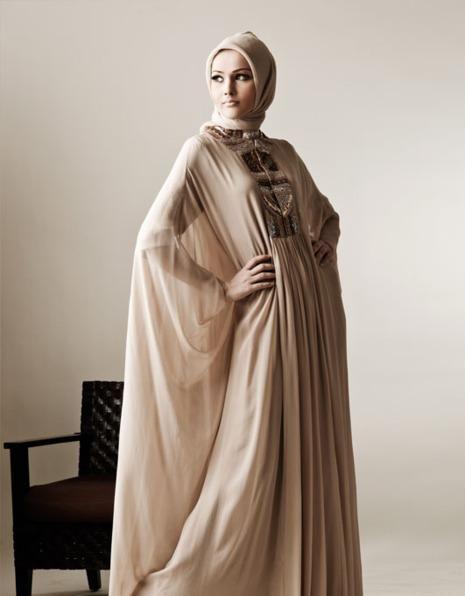 Muslim modest wedding dress