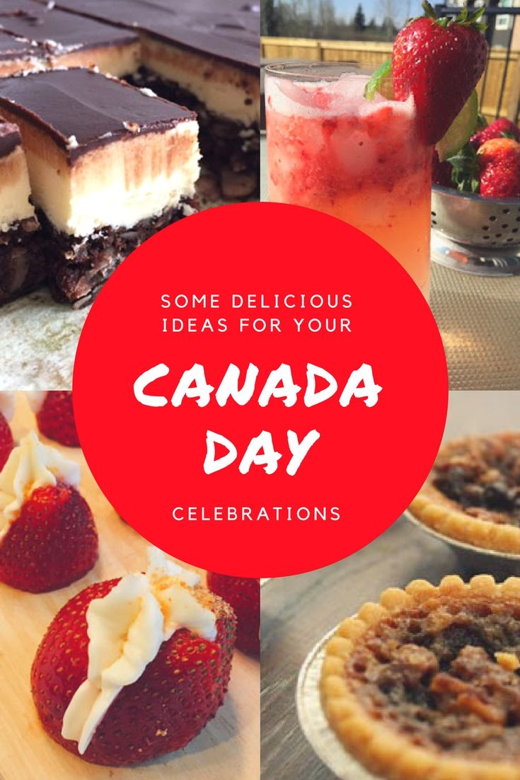 Some delicious ideas for your Canada Day party featuring both classic treats and red and white dishes. Perfect for celebrating Canada 150.