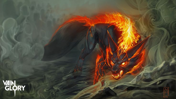 ArtStation - Netherworld Fortress Tier1 - Vainglory, Michelle Hardy