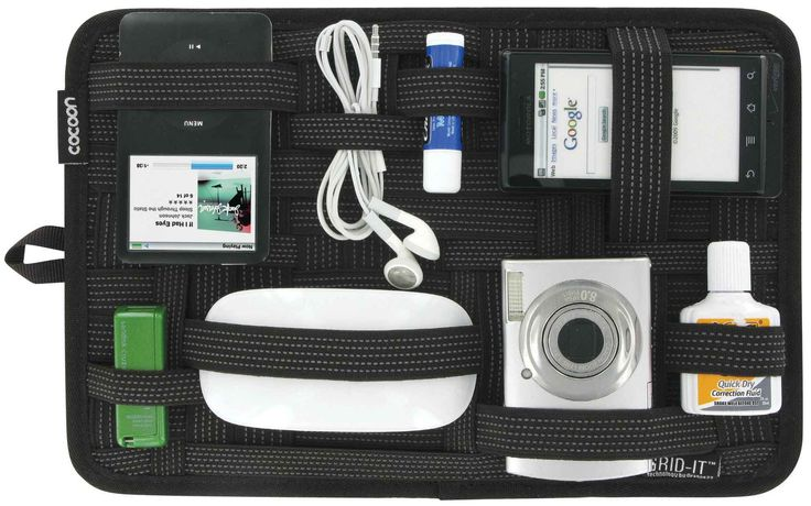 Amazon.com: Grid-It Organizer, Black (CPG10BK): Electronics