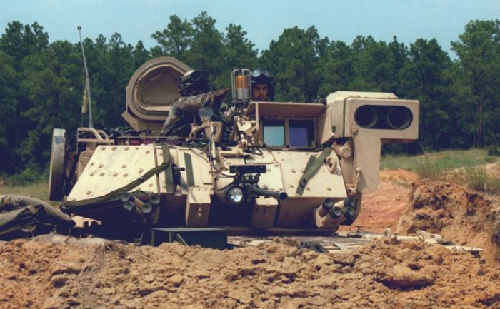 M2/M3 Bradley Fighting Vehicle (53 pics)