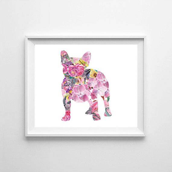 French bulldog watercolor dog watercolor French bulldog