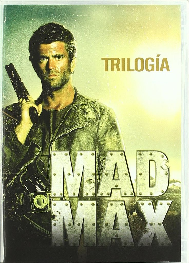 Caratulas de CD y DVD: Pack: Mad Max 1, 2 Y 3 [DVD]