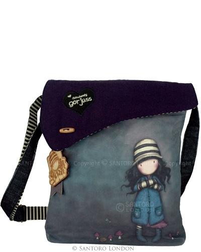 Gorjuss Wool Shoulder Bag, I love bags from Gorjuss... maybe I can convince Santa *blink blink*