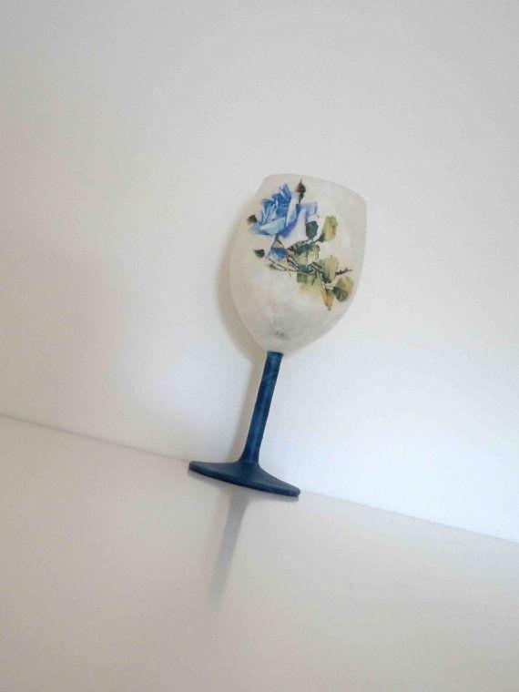 Candle Holder for Tea LightRomantic Blue by KyriakisAtelier