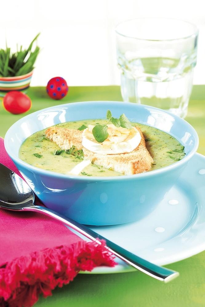 Vuohenjuustogratinoitu parsakaalikeitto | K-ruoka