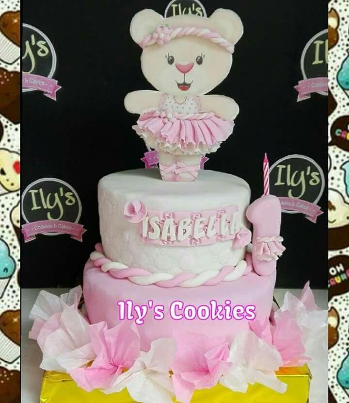Torta Osita Bailarina *•.¸♥♥¸.•*Ily´s Cookies*•.¸♥♥¸.•*