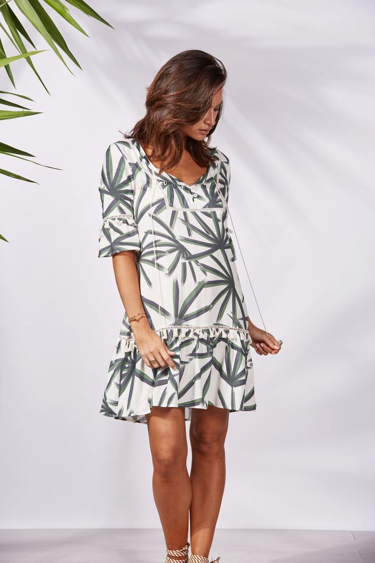 Binny - Havaianna's Ruffle Sleeve Dress