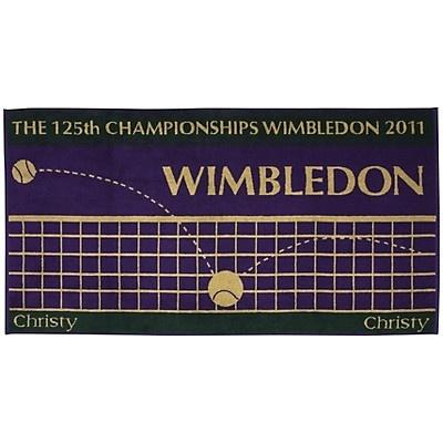 wimbledon towel.