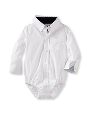 61% OFF Andy & Evan Baby White Wash Shirtzie (White)