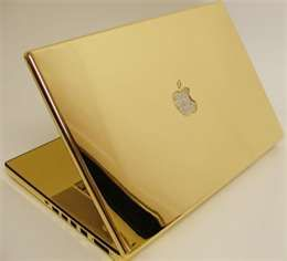 Most expensive laptop all gold 1 million