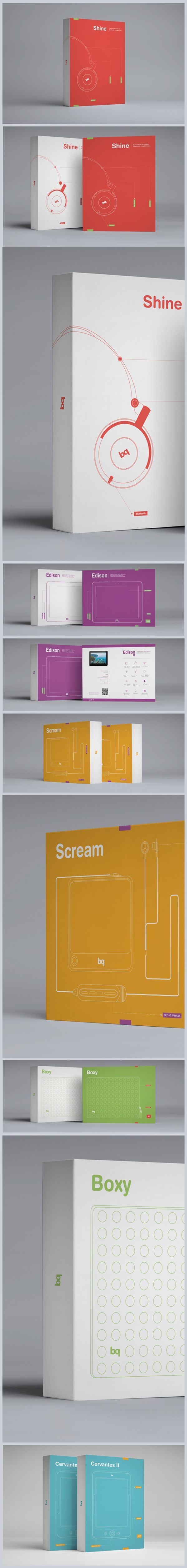"""bq"" Packaging design on Packaging Design Served"