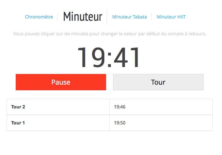 outil Litobox : Minuteur et compte à rebours en ligne gratuit pour vos entraînements.