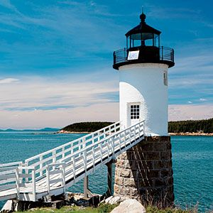 106 Days of Summer, Day 71: Play keeper at one of these beacons by the sea–turned–hotels, and discover the joys of lighthouse life. - Coastal Living